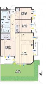 中古マンション 葛飾区金町3丁目36-4 千代田常磐線金町駅 28990000