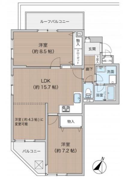 中古マンション 葛飾区柴又3丁目 千代田常磐線金町駅 2280万円