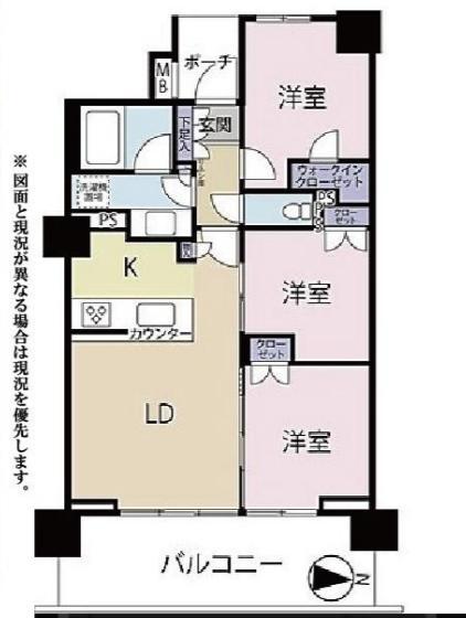 中古マンション 葛飾区新宿6丁目 千代田常磐線金町駅 5549万円