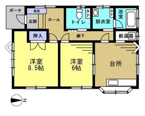 中古戸建 酒田市錦町2丁目77-9 JR羽越本線酒田駅 999万円
