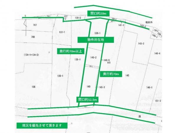 土地 酒田市茗ケ沢字前畑 JR陸羽西線砂越駅 290万円