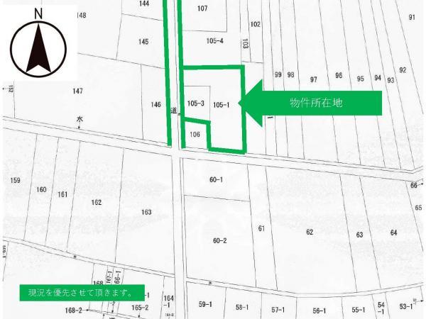 土地 酒田市藤塚字南畑105-3 JR羽越本線酒田駅 280万円