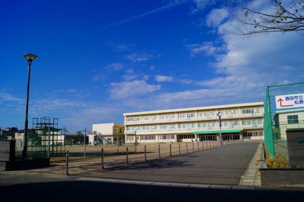 酒田市立松原小学校。
