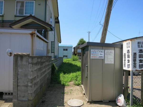 土地 酒田市南新町2丁目 JR羽越本線酒田駅 400万円