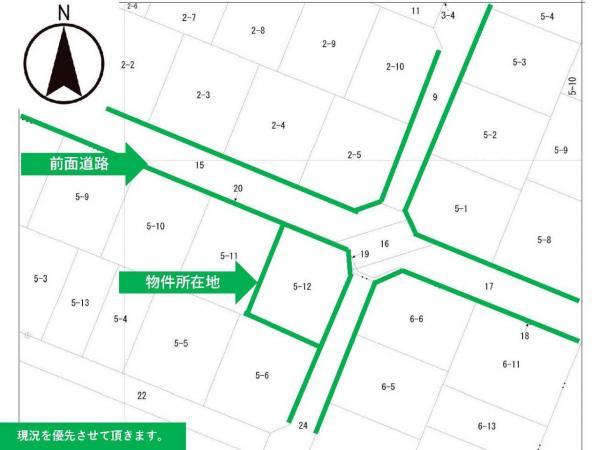 土地 東田川郡庄内町松陽1丁目 JR羽越本線余目駅 810万円