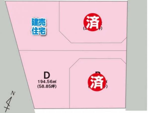 土地 山形県酒田市光ケ丘1丁目3-8 JR羽越本線酒田駅 411.9万円