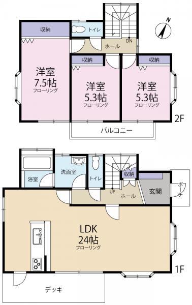 中古戸建 匝瑳市平木2460-2 JR総武本線干潟駅 990万円