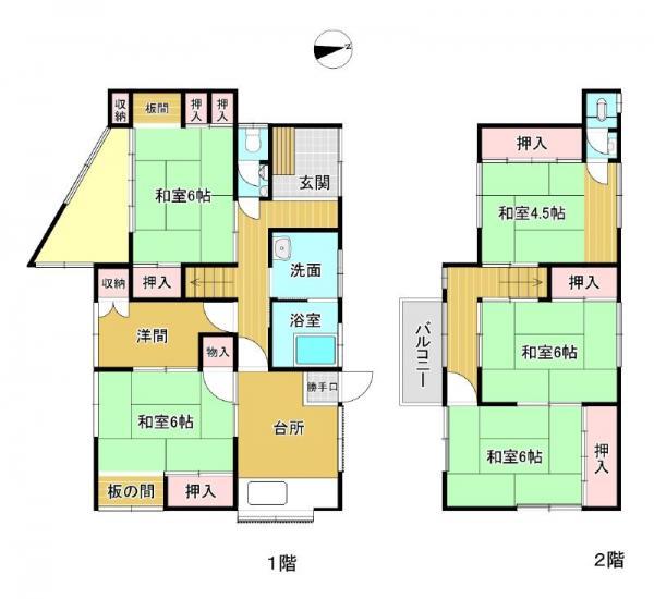 中古戸建 兵庫県姫路市八代756番地5号 駅 350万円