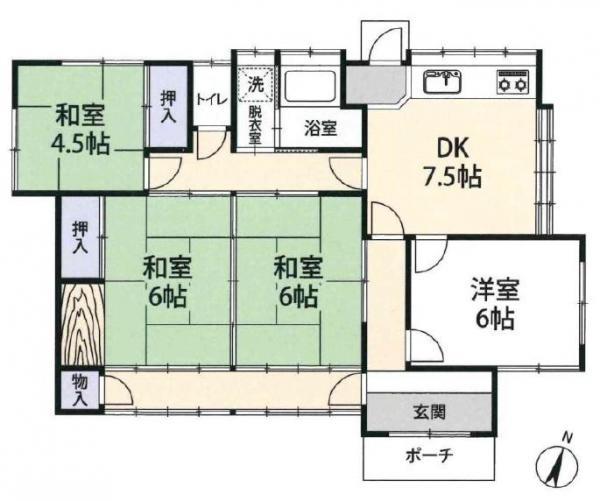中古戸建 常総市中妻町 関東鉄道常総線中妻駅 350万円