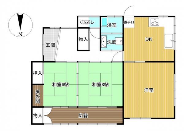 中古戸建 筑西市一本松 関東鉄道常総線大田郷駅 248万円